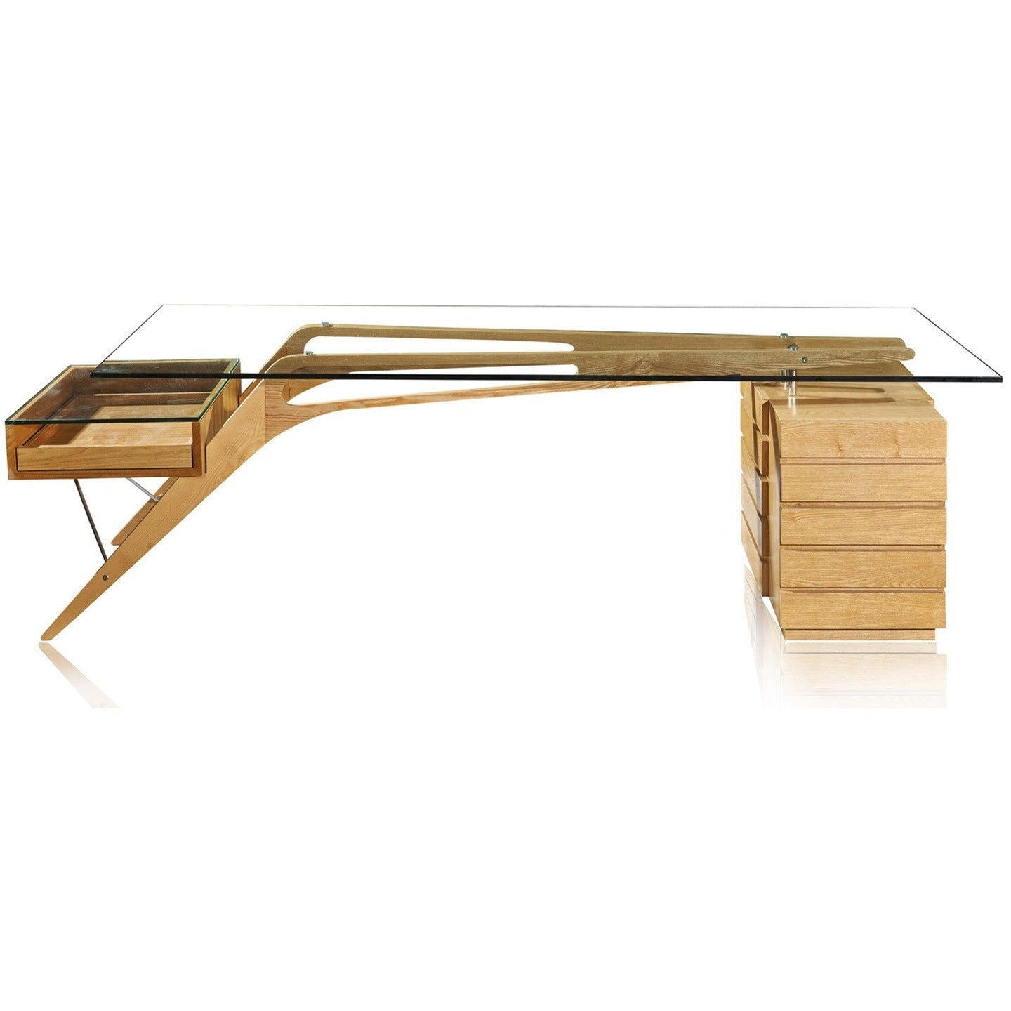 Lanna Furniture Villa Desk-Minimal & Modern
