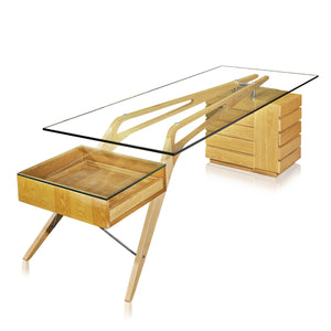 Lanna Furniture Villa Desk , Desks - Lanna Furniture, Minimal & Modern - 3