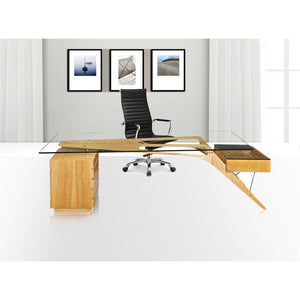 Lanna Furniture Villa Desk , Desks - Lanna Furniture, Minimal & Modern - 7