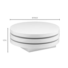 Moe's Home Collection Torno Coffee Table White - ER-1089-18