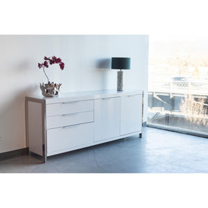 MOE'S HOME COLLECTION NEO SIDEBOARD WHITE - ER-1118-18-Minimal & Modern