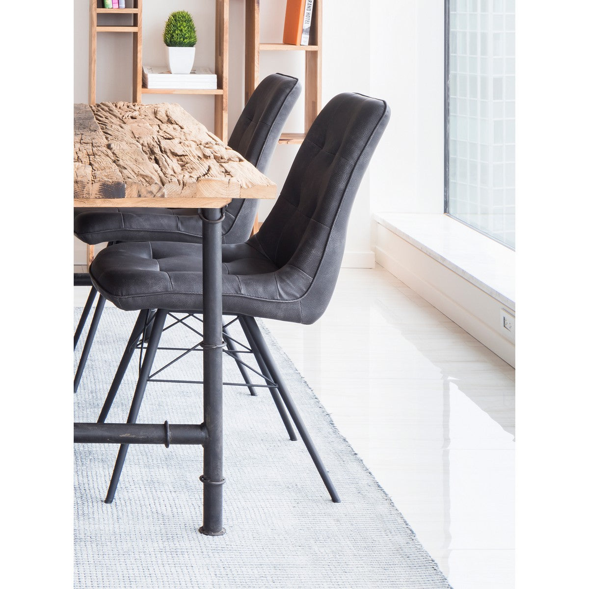 Moe's Home Collection Morrison Side Chair-Set of Two - ER-2029-15 - Moe's Home Collection - Dining Chairs - Minimal And Modern - 1