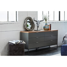 Moe's Home Collection Leroy Low Dresser - ER-2073-03 - Moe's Home Collection - Dressers - Minimal And Modern - 1
