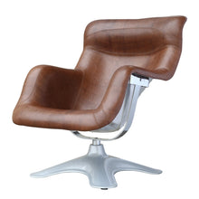 Finemod Imports Modern Spring High Chair in Brown FMI1026-Minimal & Modern