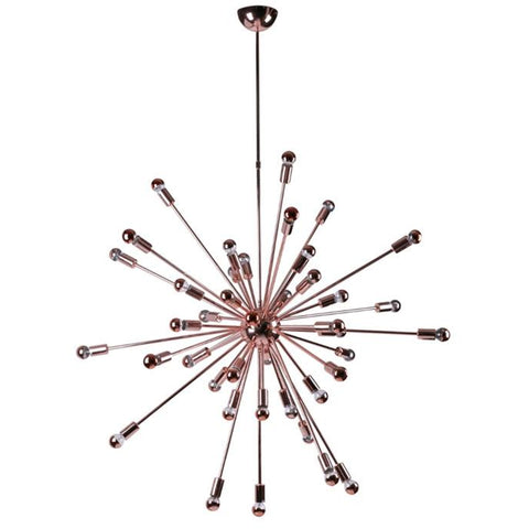 "Finemod Imports Modern Spark Hanging Chandelier 39"" Copper, Lighting - Finemod Imports, Minimal & Modern - 1"