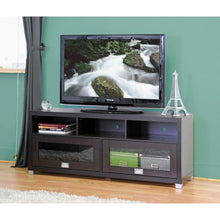 Baxton Studio Swindon Modern TV Stand with Glass Doors Baxton Studio-TV Stands-Minimal And Modern - 3