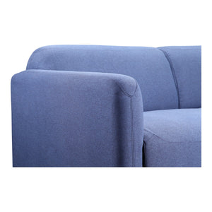 Moe's Home Collection Peppy Sofa Blue - FW-1006-26