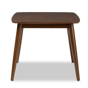 "Baxton Studio Flora Mid-Century Modern ""Oak"" Medium Brown Finishing Wood Dining Table Baxton Studio-dining table-Minimal And Modern - 4"