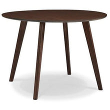 "Greenington Currant Modern Bamboo 42"" Round Dining Table-Minimal & Modern"