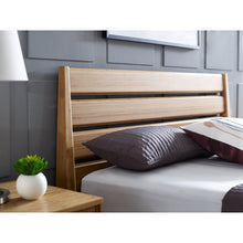 3pc Greenington Sienna Modern Bamboo Queen Bedroom Set (Includes: 1 Queen Bed & 2 Nightstands)-Minimal & Modern