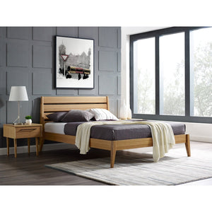 3pc Greenington Sienna Modern Bamboo Eastern King Bedroom Set (Includes: 1 Eastern King Bed & 2 Nightstands)-Minimal & Modern