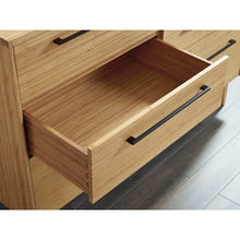 Greenington Sienna Modern Bamboo Six Drawer Dresser Chest-Minimal & Modern