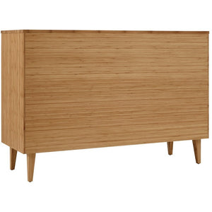 5pc Greenington Sienna Modern Bamboo Queen Bedroom Set (Includes: 1 Queen Bed, 2 Nightstands, 2 Dressers)-Minimal & Modern