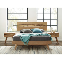 3pc Greenington Azara Modern Bamboo Queen Platform Bedroom Set (Includes: 1 Queen Bed & 2 Nightstands)-Minimal & Modern
