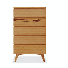 Greenington Azara Modern Bamboo Five Drawer Dresser Chest-Minimal & Modern