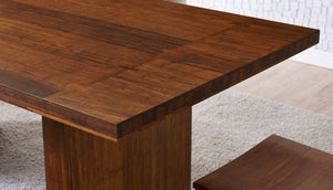 "Greenington Modern Bamboo Aurora Dining Table 84"" Dining Tables - bamboomod"
