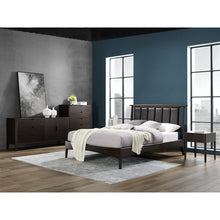 Greenington Cypress Eastern King Platform Bed, Havana-Minimal & Modern