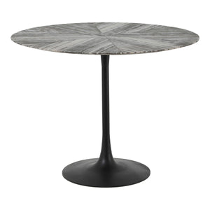 Moe's Home Collection Nyles Marble Dining Table - GK-1005-37 - Moe's Home Collection - Dining Tables - Minimal And Modern - 1