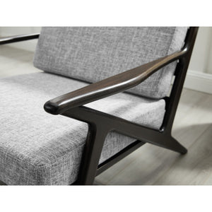 Greenington Logan Lounge Chair, Havana-Minimal & Modern