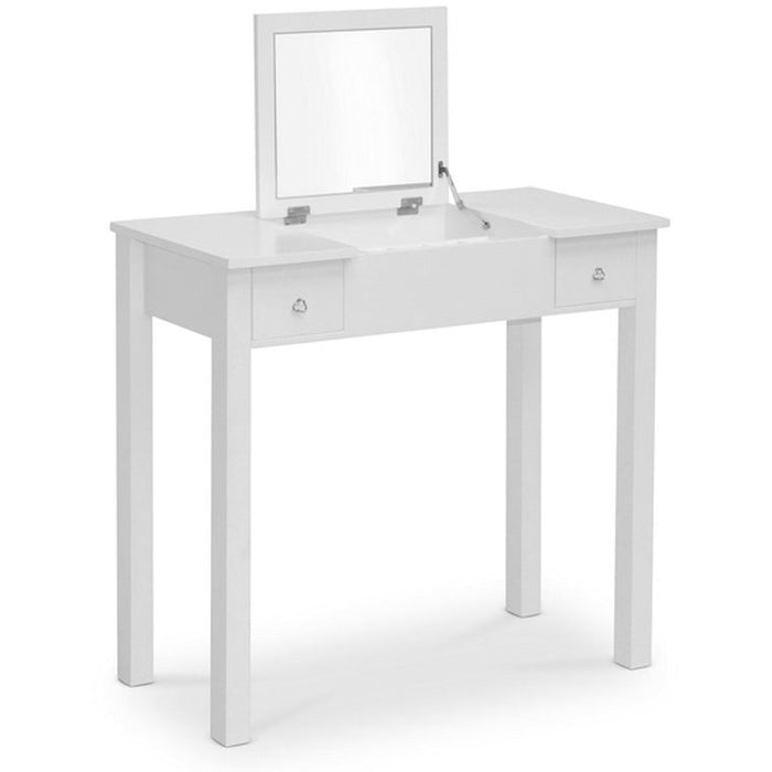 Baxton Studio Wessex White Vanity Table Baxton Studio--Minimal And Modern - 1