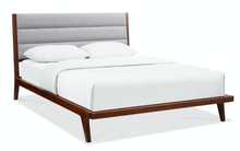 Greenington Mercury Modern Bamboo Upholstered King Bed, Exotic - GM002E-Minimal & Modern