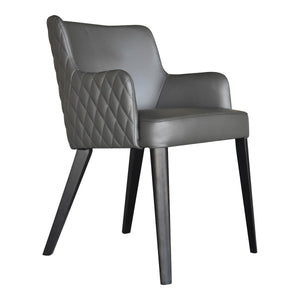 Moe's Home Collection Zayden Dining Chair Grey - GO-1004-29