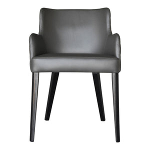 Moe's Home Collection Zayden Dining Chair Grey - GO-1004-29 - Moe's Home Collection - Dining Chairs - Minimal And Modern - 1