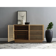 "Greenington 48"" Rowan Media Center, Caramelized-Minimal & Modern"
