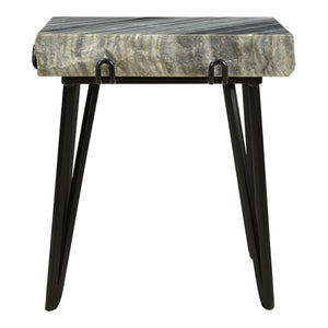 Moe's Home Collection Alpert Accent Table Grey - IK-1011-25 - Moe's Home Collection - side tables - Minimal And Modern - 1