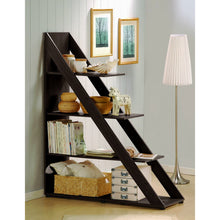 Baxton Studio Psinta Dark Brown Modern Shelving Unit Baxton Studio--Minimal And Modern - 4