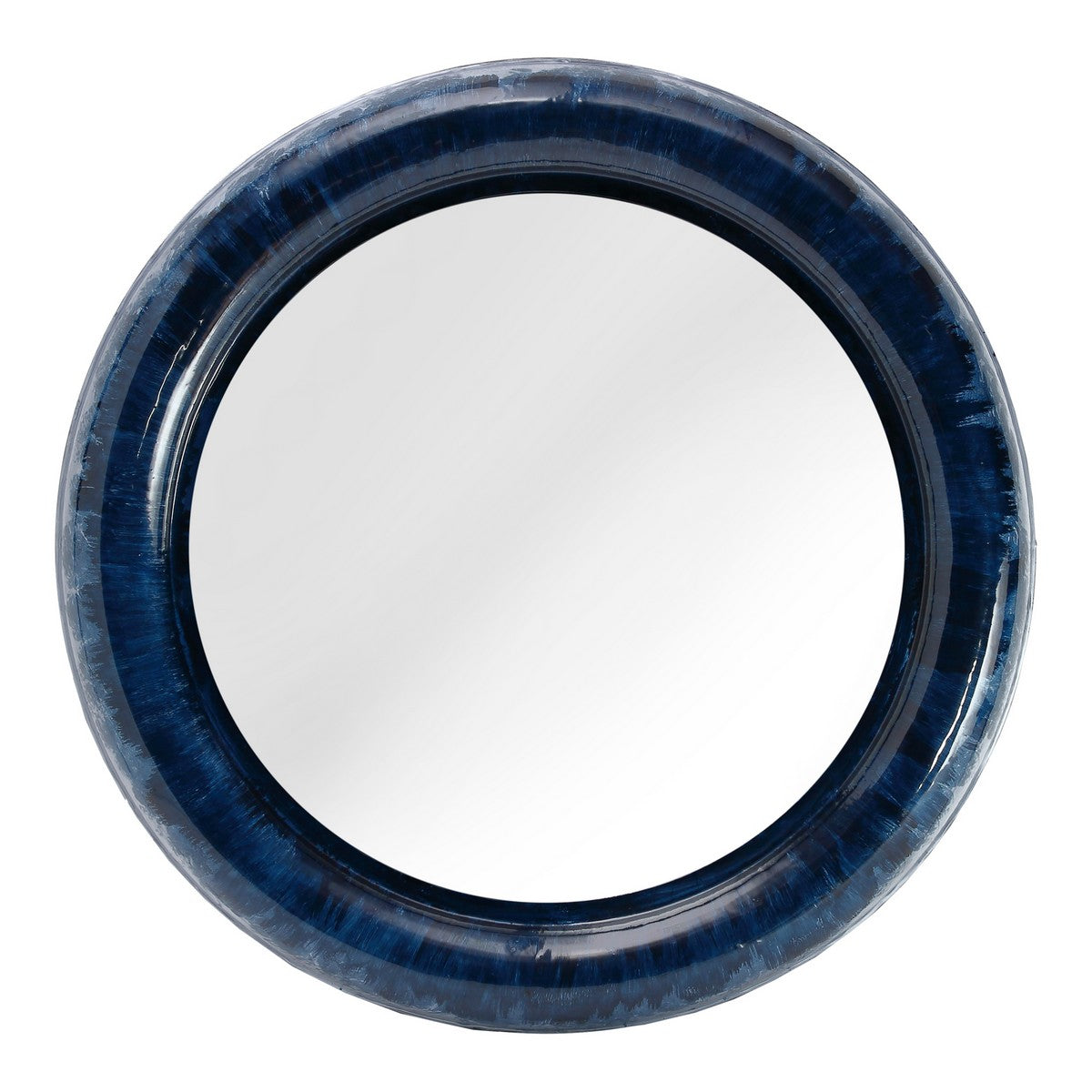 Moe's Home Collection Atlantis Mirror Blue - IX-1110-26 - Moe's Home Collection - Mirrors - Minimal And Modern - 1