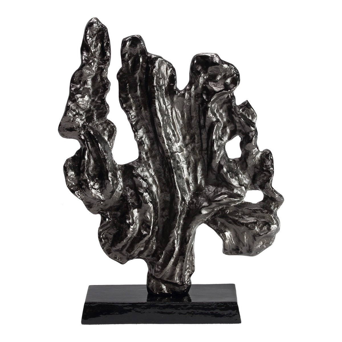 Moe's Home Collection Coral Sculpture Large Black Nickel - IX-1115-02 - Moe's Home Collection - Art - Minimal And Modern - 1