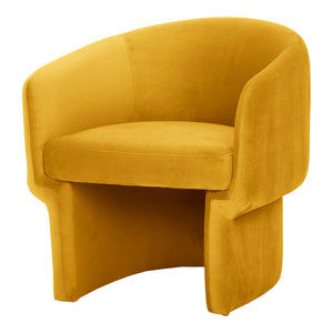 Moe's Home Collection Franco Chair Mustard - JM-1005-09