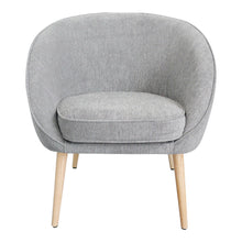 Moe's Home Collection Farah Chair Grey - JW-1001-15 - Moe's Home Collection - lounge chairs - Minimal And Modern - 1
