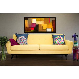 TOV Furniture Modern James Mustard Yellow Linen Sofa TOV-S20S-Y-Minimal & Modern