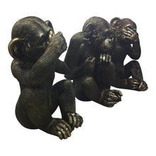 Moe's Home Collection He Did It Chimps Set of Three - LA-1060-02