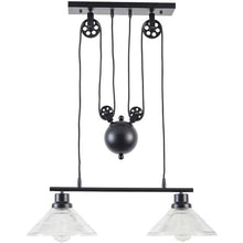 Edgemod Modern Technica 2-Light Pulley Island Pendant , Lighting - Edgemod Furniture, Minimal & Modern - 2