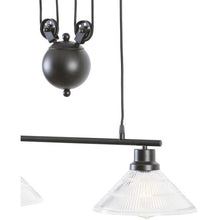Edgemod Modern Technica 2-Light Pulley Island Pendant , Lighting - Edgemod Furniture, Minimal & Modern - 3
