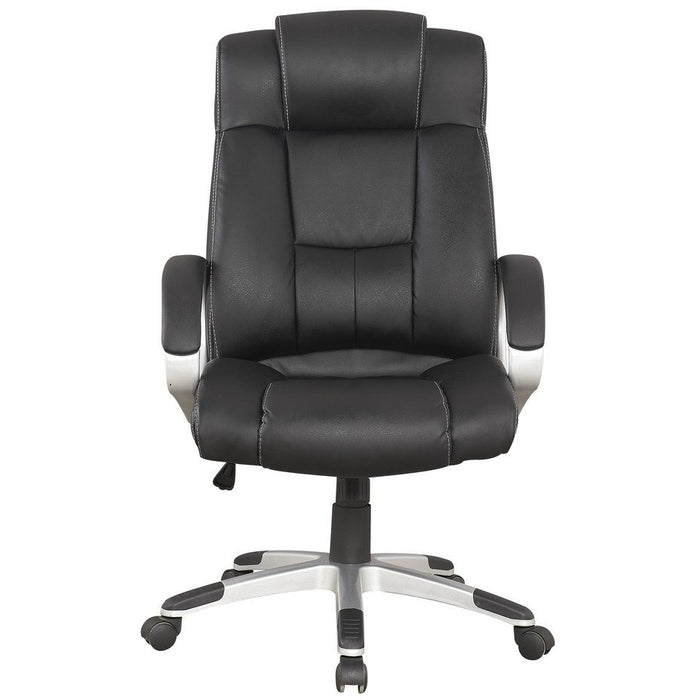 Manhattan Comfort Presidentential Washington Office Chair in Black Manhattan Comfort-Office Chair- - 1