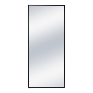 Moe's Home Collection Squire Mirror Black - MJ-1050-02 - Moe's Home Collection - Mirrors - Minimal And Modern - 1