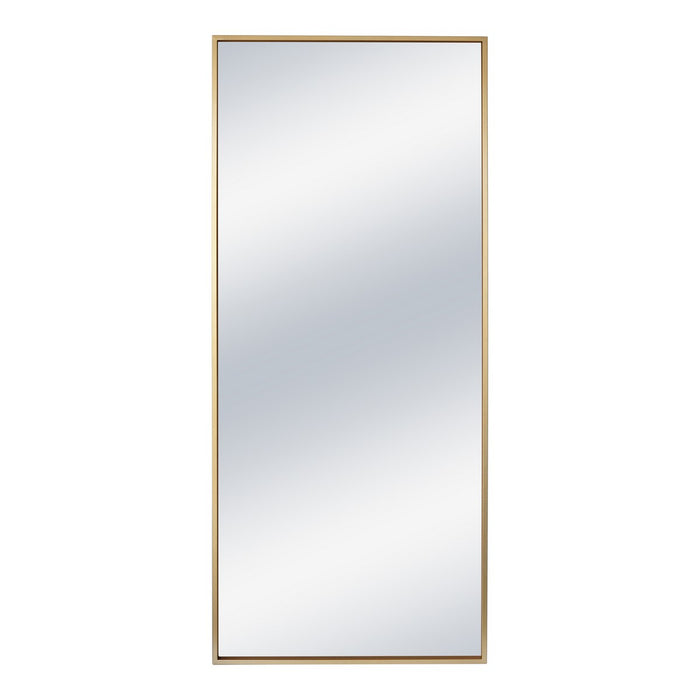 Moe's Home Collection Squire Mirror Gold - MJ-1050-32 - Moe's Home Collection - Mirrors - Minimal And Modern - 1