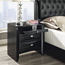 Modway Furniture Modern Harrison Nightstand in Black MOD-5008-BLK-Minimal & Modern