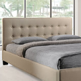 Modway Furniture Modern Caitlin Queen Fabric Bed Frame , Beds - Modway Furniture, Minimal & Modern - 3