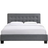 Modway Furniture Modern Caitlin Queen Fabric Bed Frame , Beds - Modway Furniture, Minimal & Modern - 10
