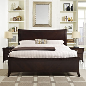 Modway Furniture Modern Elizabeth 3 Piece Queen Bedroom Set MOD-5064-CAP-SET-Minimal & Modern