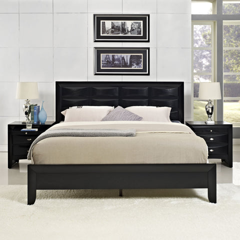 Amazing ... Modway Furniture Modern Harrison 3 Piece Queen Bedroom Set , Bedroom  Sets   Modway Furniture,