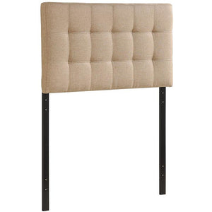 Modway Furniture Modern Lily Twin Headboard Beige, Headboards - Modway Furniture, Minimal & Modern - 1