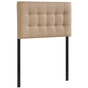 Modway Furniture Modern Emily Twin Headboard Beige, Headboards - Modway Furniture, Minimal & Modern - 1