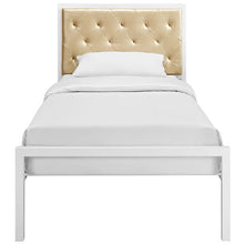 Modway Furniture Modern Mia Twin Fabric Bed Frame MOD-5179-Minimal & Modern