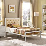 Modway Furniture Modern Mia Twin Fabric Bed Frame , Beds - Modway Furniture, Minimal & Modern - 9
